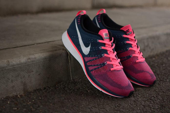 Nike Flyknit Trainer+ Squadron Blue/White-Pink Flash