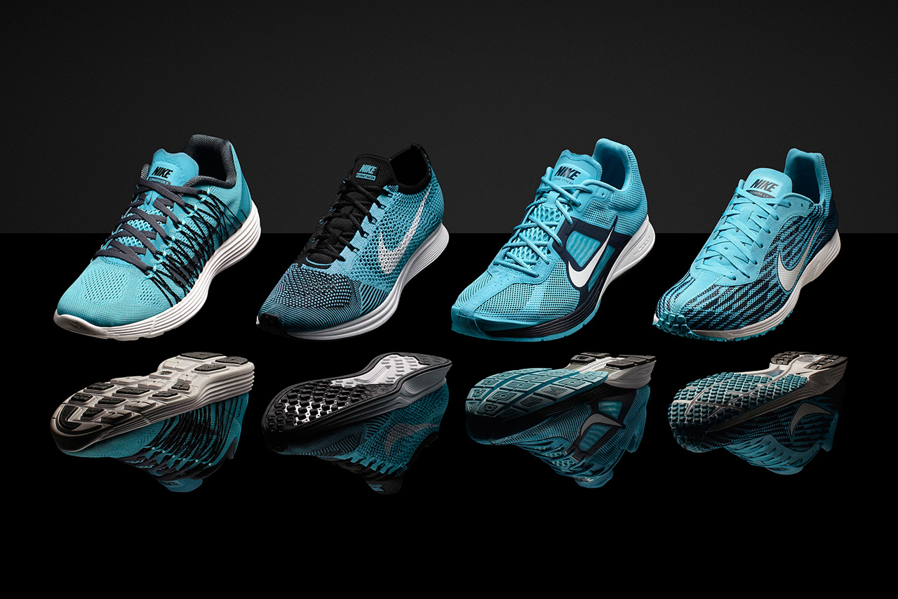 """Nike Introduces """"Pink Foil"""" and """"Gamma Blue"""" Track and Field Footwear"""