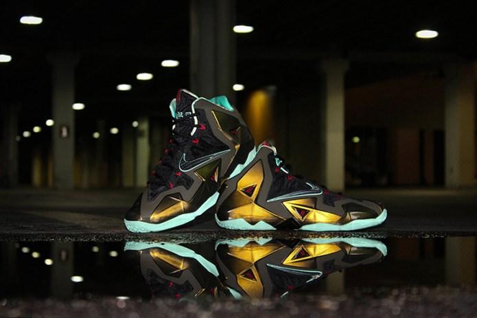 "Nike LeBron 11 ""Parachute Gold"""