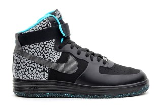 Nike Lunar Force 1 High PRM Black/Gamma Blue