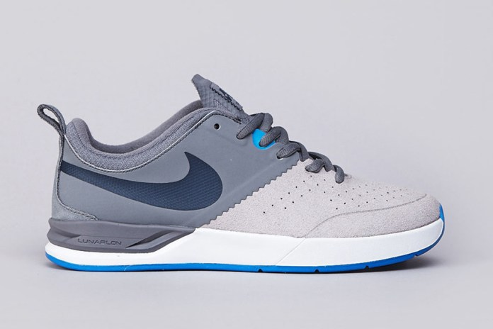 Nike SB Project BA Cool Grey/Armory Navy-Matte Silver-Photo Blue