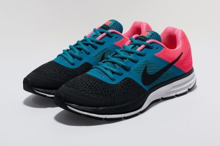 Nike Women's  Air Pegasus+ 30 Black/Teal/Pink