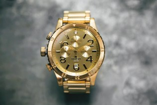 Nixon 48-20 Chrono Gold