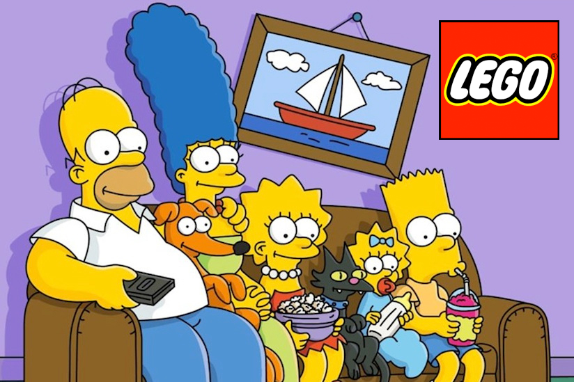 Official 'The Simpsons' LEGO Sets Coming in 2014