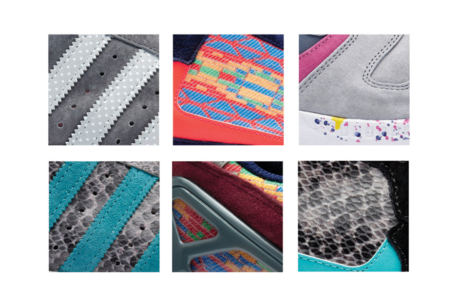Offspring x adidas Originals Pattern Pack Preview