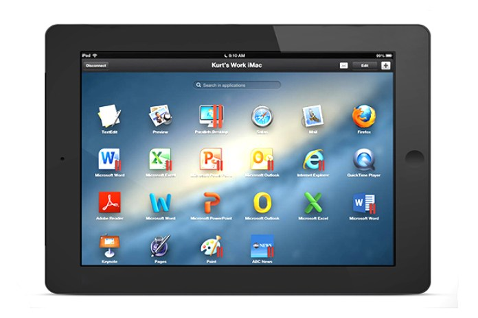 Parallels Access App Allows Remote Access of Computer Software