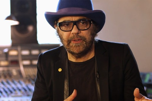 Pharrell Williams Interviews Legendary Producer Daniel Lanois for ARTST TLK