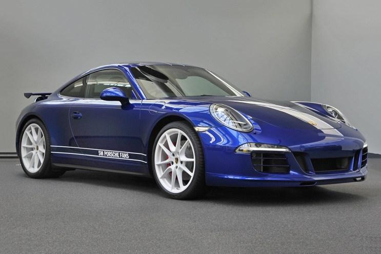 """Porsche Unveils its Facebook-Designed """"5 Million Car"""""""