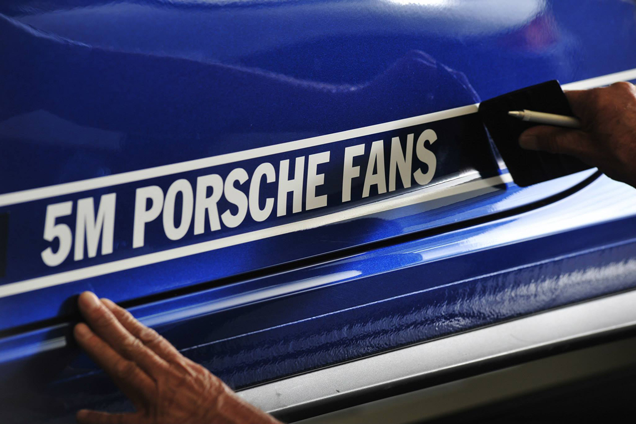 porsche unveils its facebook designed 5 million car