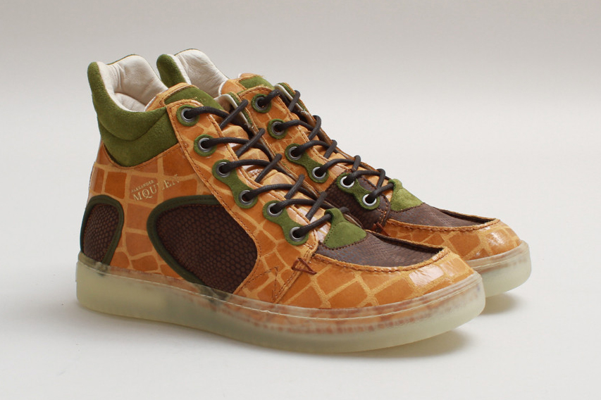puma by alexander mcqueen 2013 fall winter joust iii mid sunflower