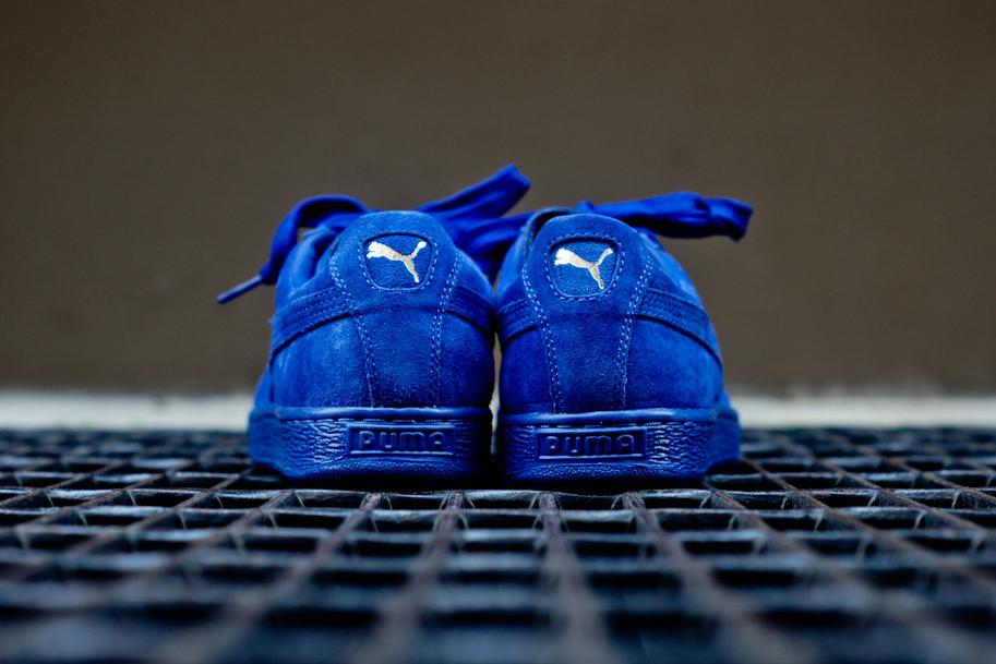 puma suede mazarine blue