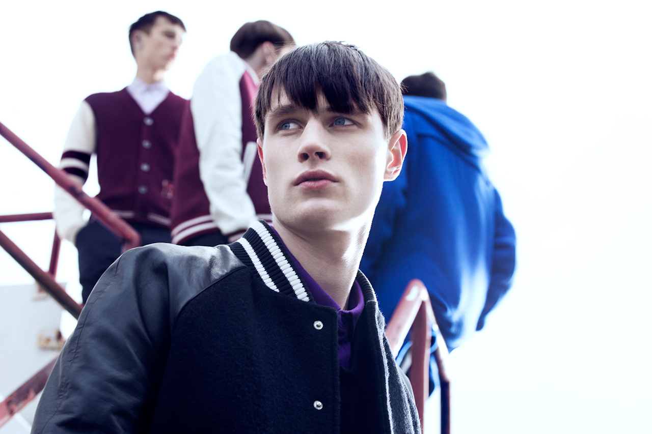 raf simons for fred perry laurel wreath 2013 fall winter lookbook