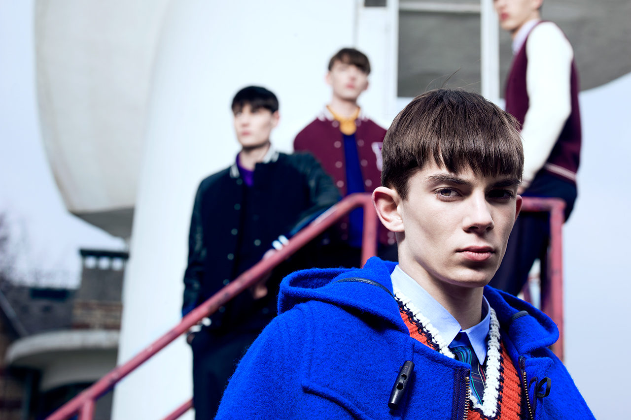 Raf Simons for Fred Perry Laurel Wreath 2013 Fall/Winter Lookbook