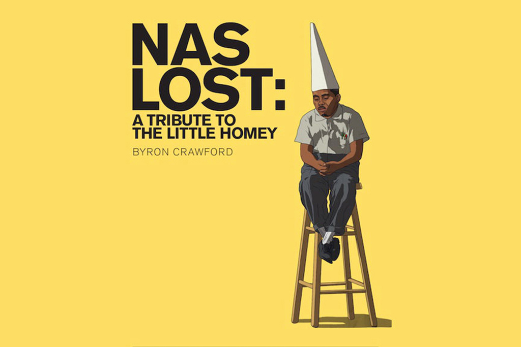 Rap Blogger Byron Crawford's New Book 'NaS Lost: A Tribute to the Little Homey'