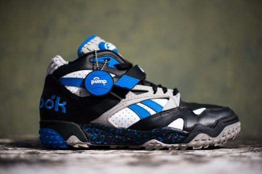 Reebok Pump Paydirt Mid Black/Blue/White