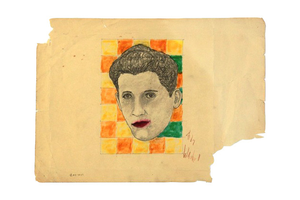 Rumored Early Andy Warhol Sketch Hits eBay for Nearly $2 Million USD