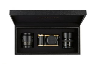 Samsung Gold Plated NX300 Special Edition Camera Kit