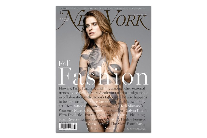 Lake Bell and Scott Campbell Bare All for New York Magazine
