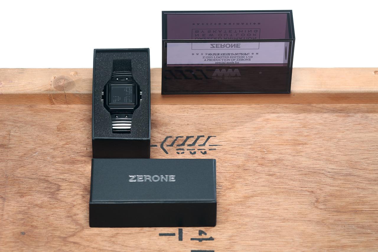 skatething x eric kot x zerone dazzled small limited edition