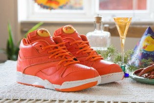 "Sneakersnstuff x Reebok Court Victory Pump ""Crayfish Party"""