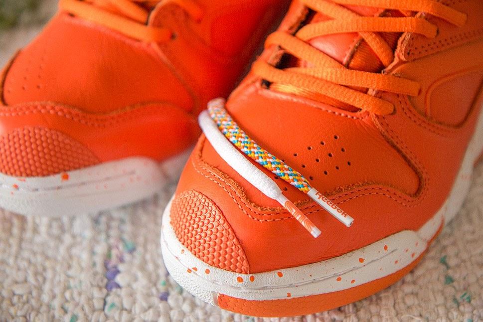 "Sneakersnstuff x Reebok Court Victory Pump ""Crayfish Party"""