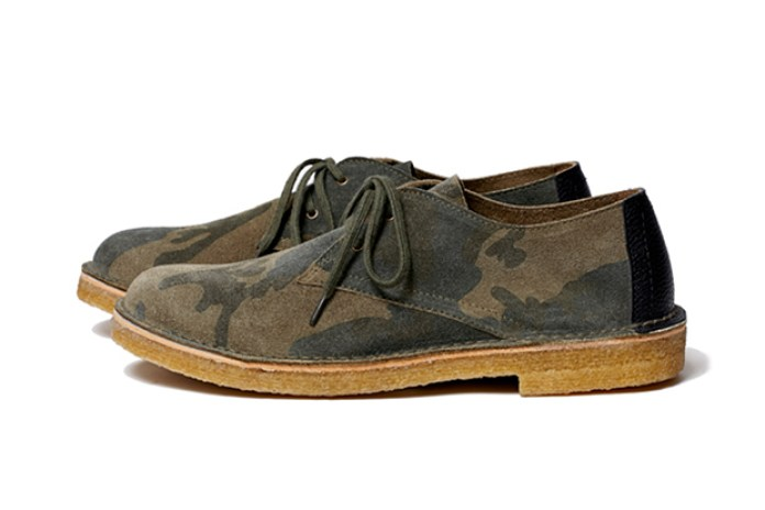 SOPHNET. 2013 Fall/Winter LOW CUT SUEDE SHOES