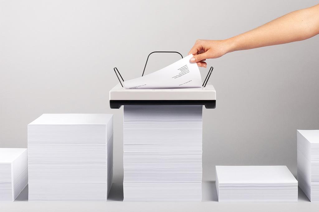 Stack Printer Concept