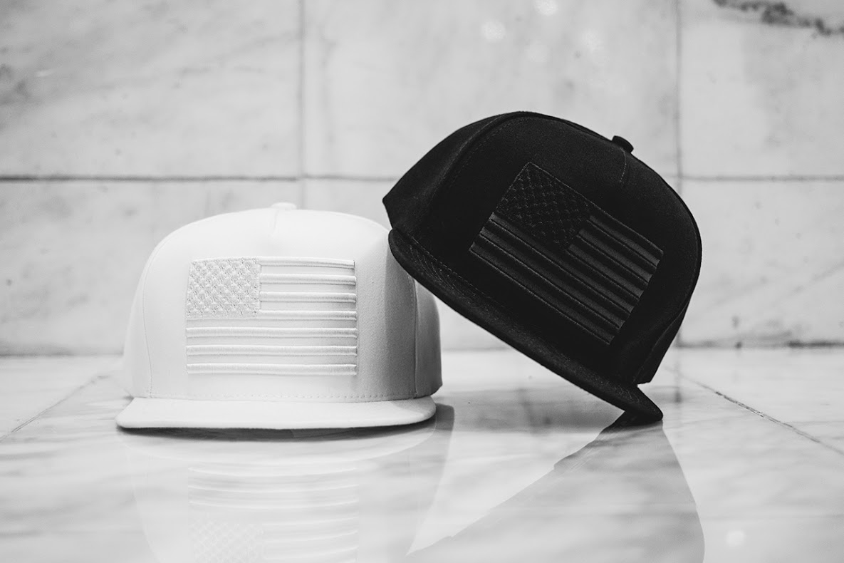 Stampd 2013 Fall Tonal Snapback Flag Collection