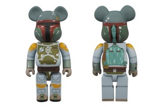 Star Wars x Medicom Toy 400% Boba Fett Bearbrick