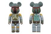 Star Wars x Medicom Toy 400% Boba Fett Bearbrick