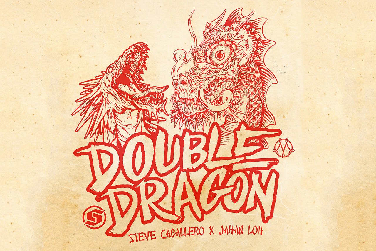 steve caballero x jahan loh double dragons exhibition