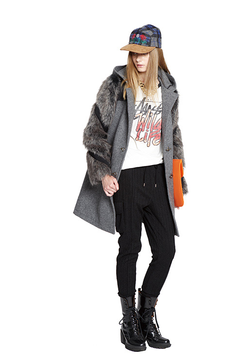 Stussy Women 2013 Fall/Winter Lookbook