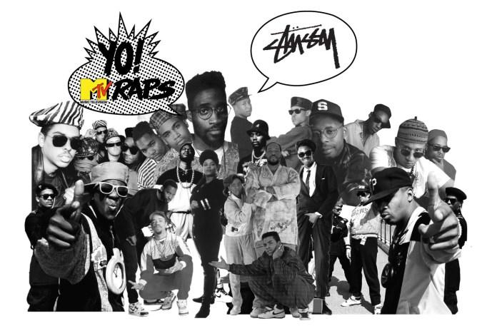 Stussy x Yo! MTV Raps Collection