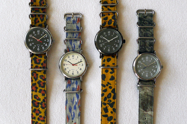 Suigeneric Waxed Cotton Watchstraps