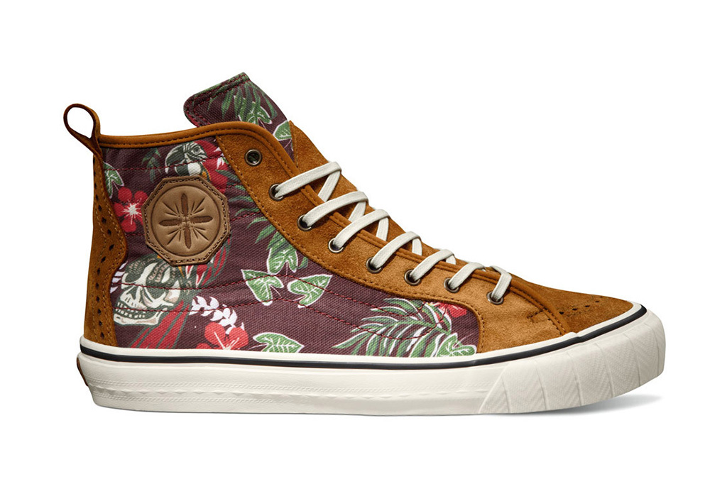 taka hayashi x vans vault 2013 fall th court hi lx paradise pack