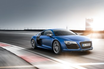 Taking the New 2014 Audi R8 V-10 Plus for a Drive