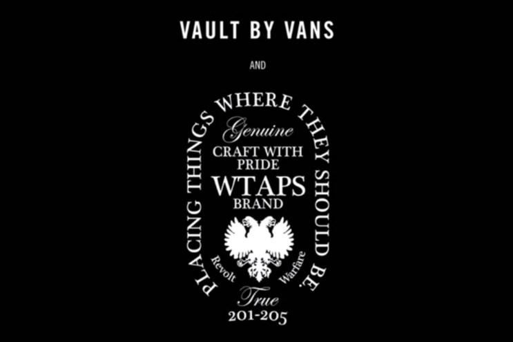 Tetsu Nishiyama on the WTAPS x Vans Vault 2013 Fall Collection