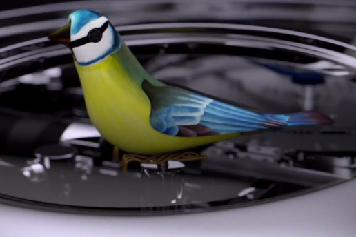 Jaquet Droz Introduces the First Singing Bird Automata Wristwatch