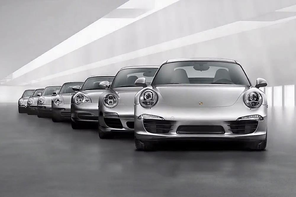 The Porsche 911: 50 Years of Highlights