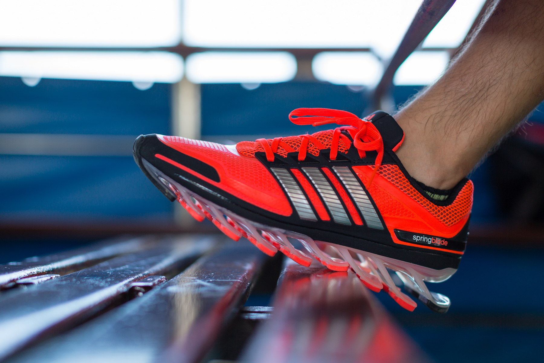 the review adidas springblade