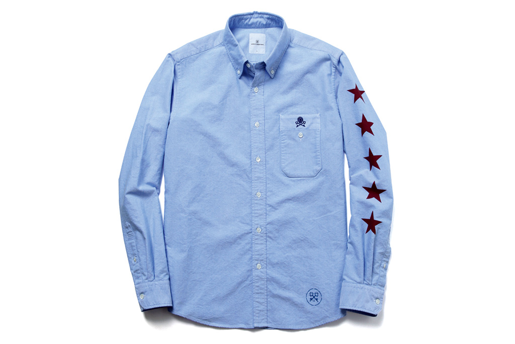 united experiment 2013 fall winter shirts
