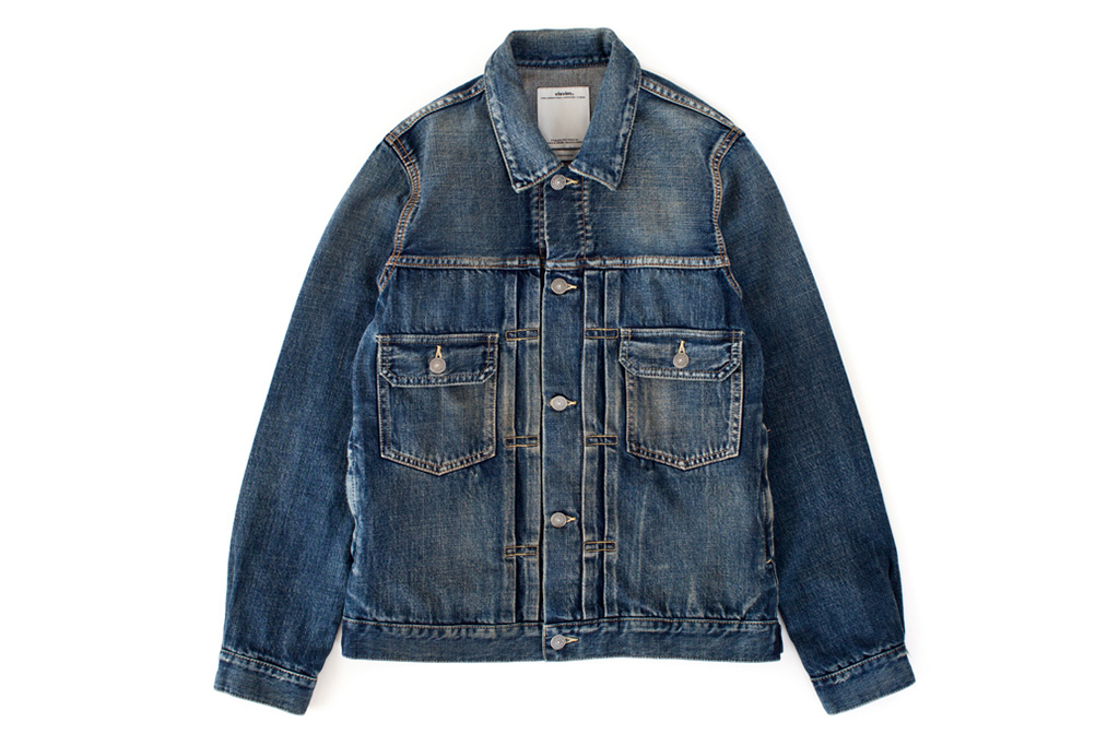 visvim 2013 Fall/Winter SS 101 JKT DAMAGED