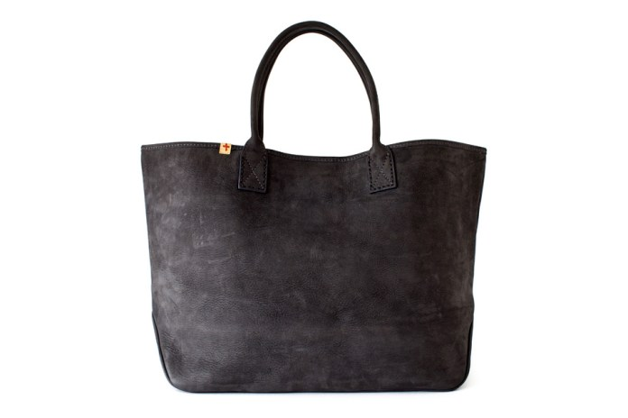 visvim LEATHER HOMER TOTE (L) *F.I.L. EXCLUSIVE