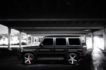 Vossen Introduces the Mercedes-Benz G63 Wagon on 22'' CV3 Concave Wheels