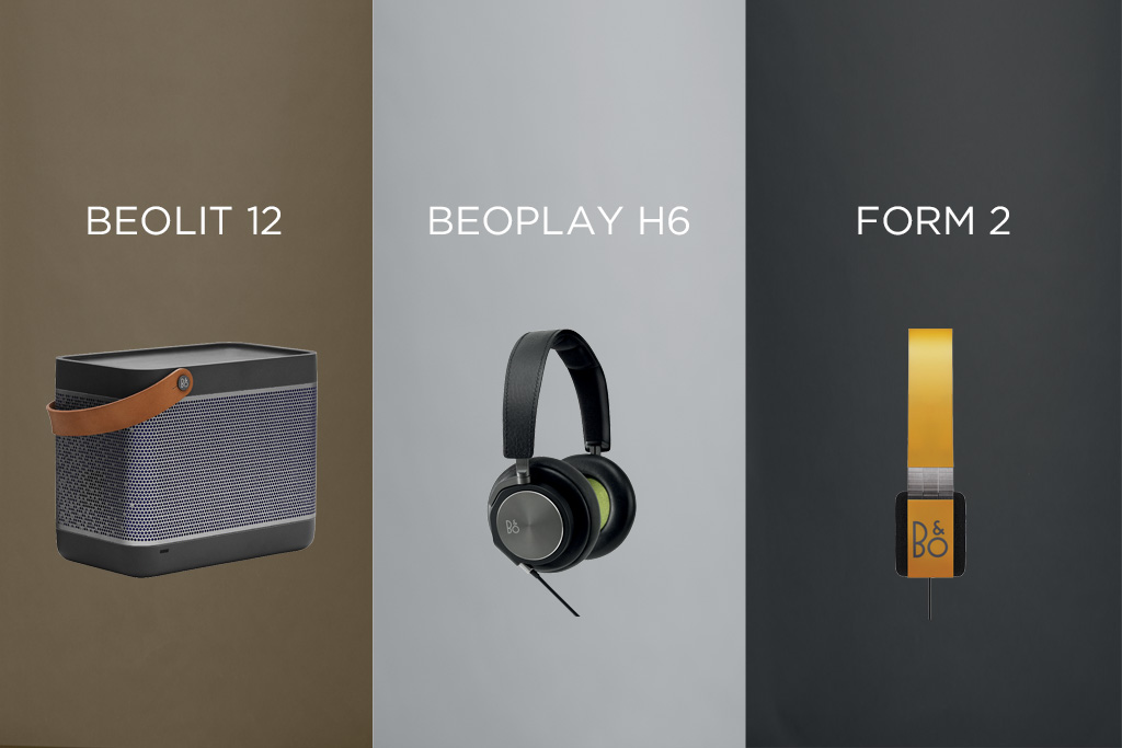 win 1 of 3 prizes from bang olufsen