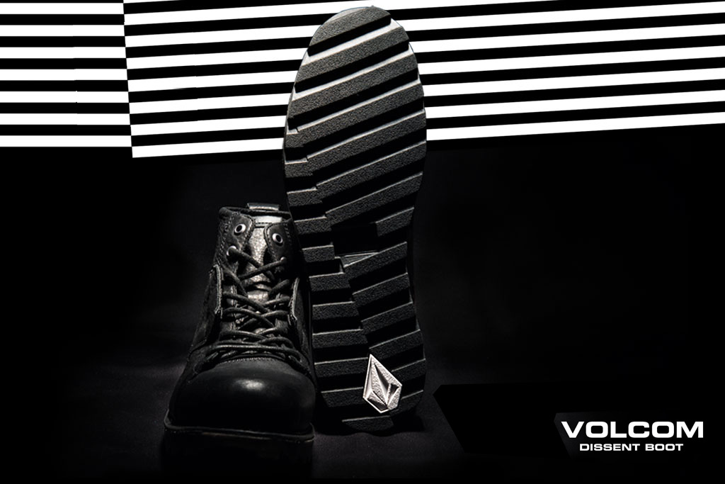 win boots and a prize pack from volcom