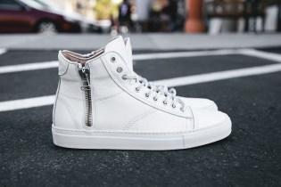 wings+horns 2013 Summer Leather Hi-Top Sneakers