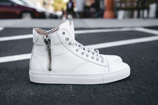 wings+horns 2013 Summer Leather Hi-Top Sneakers