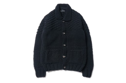 wings + horns Blocked Cowichan Sweater