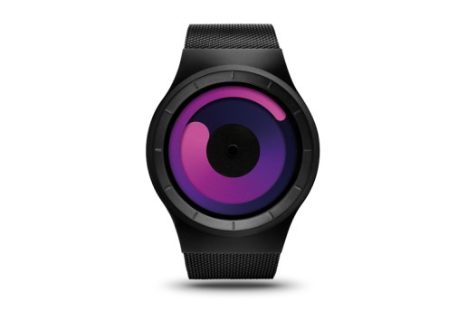 ZIIIRO Mercury Black-Purple Watch